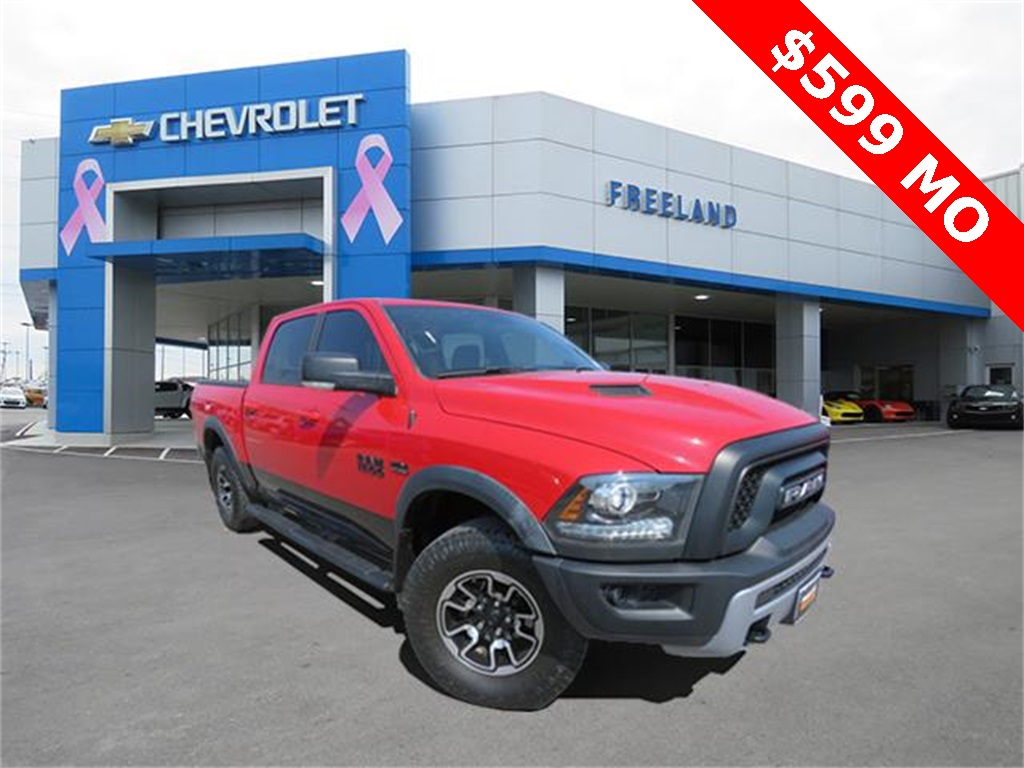 Pre-Owned 2016 Ram 1500 Rebel