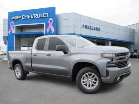 New 2019 Chevrolet Silverado 1500 RST RWD Double Cab