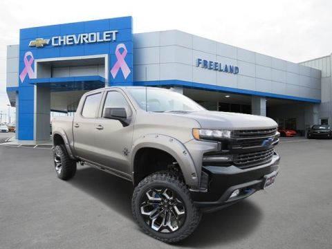 New 2020 Chevrolet Silverado 1500 BLACK WIDOW LTD