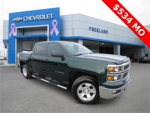 Certified Pre-Owned 2014 Chevrolet Silverado 1500 LT